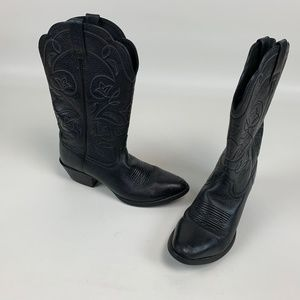 Ariat Cowboy Boots Western Leather